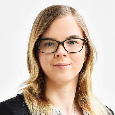 Kulturpersonal Volontärin Annelen Muschner